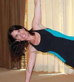Feeling centered with Yoga
