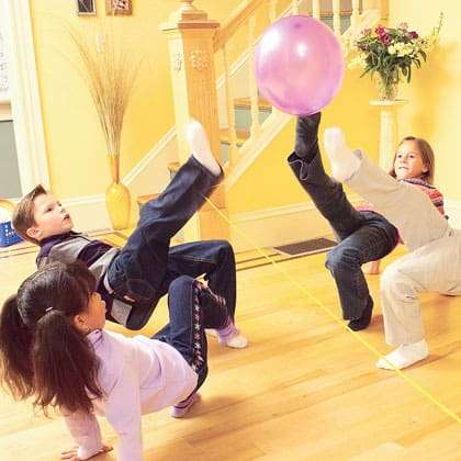 indoor exercise for kids