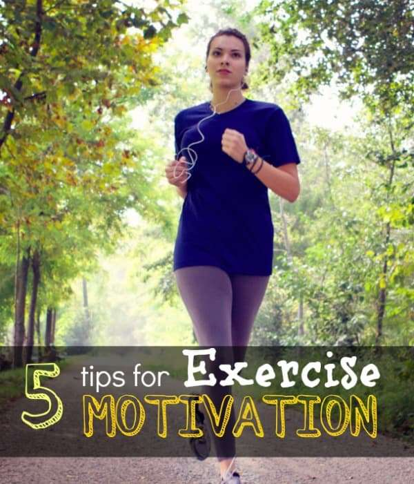 5 tips for exercise motivation