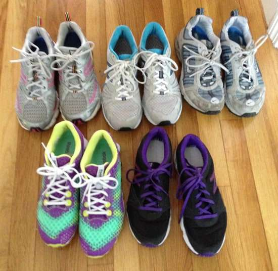 running and fitness shoes