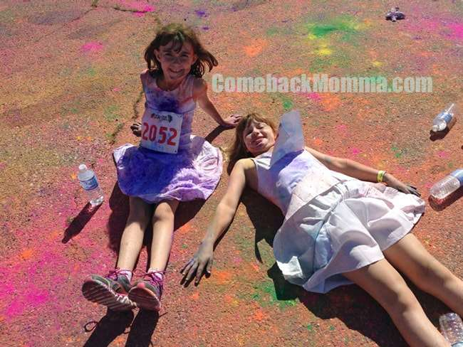 Wordless Wednesday Color Run 5K