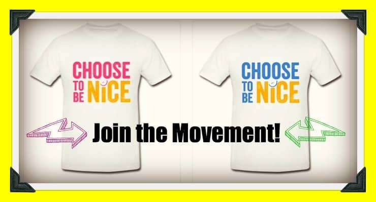 Join the Choose to be Nice Movement