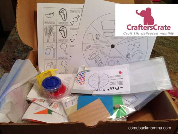 craft box for kids from CraftersCrate