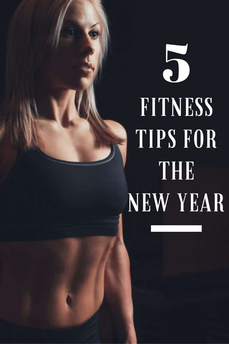 fitness tips for the new year