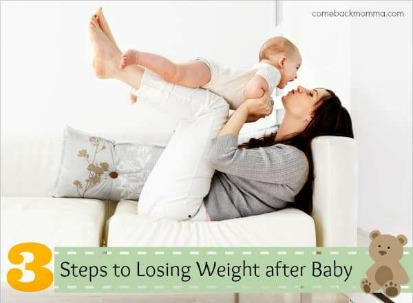 3 steps to losing baby weight