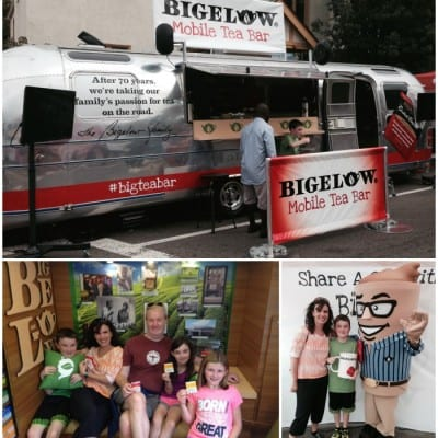 Bigelow Tea Mobile Tea Bar #BigTeaBar #Shop