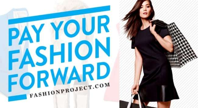 Shop Top Designers and Help a Charity at FashionProject.com #spons