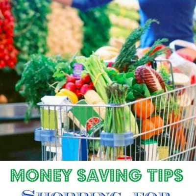 money savings tips when shopping for healthy foods