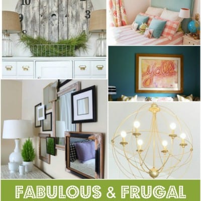 fabulous and frugal decorating diys