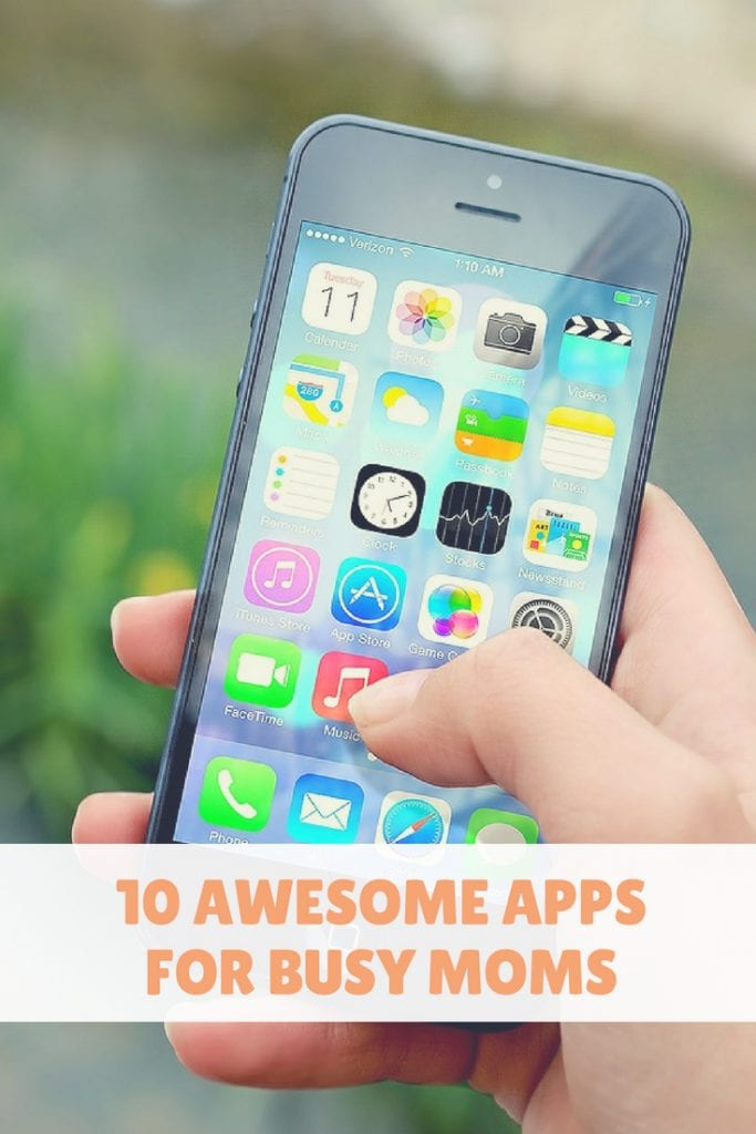 Whether your passing time in the school pickup line or looking for ways to keep organized. These phone apps are for you! #smartphone #iphone #apps