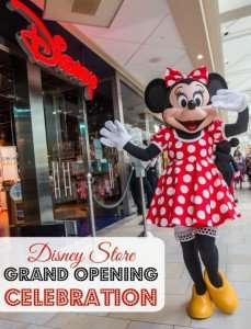A Visit to the Disney Store Grand Opening in Burlington, MA
