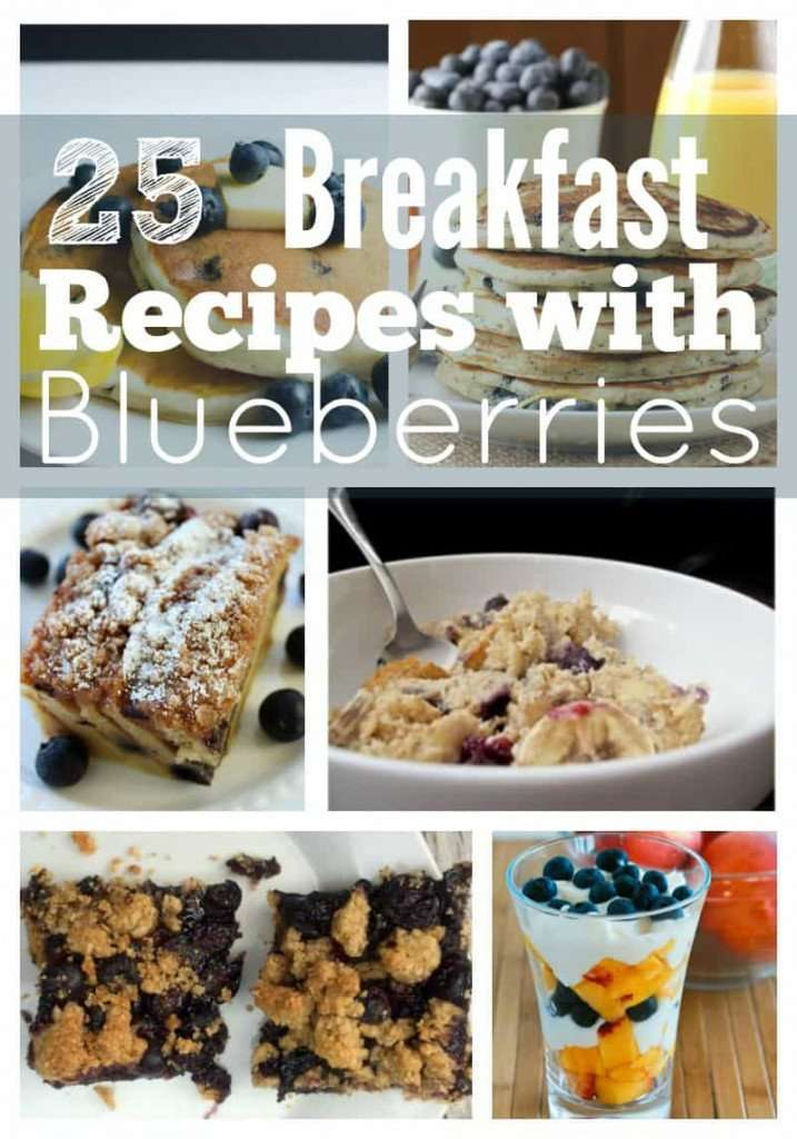 25 Delicious Breakfast Recipes with Blueberries