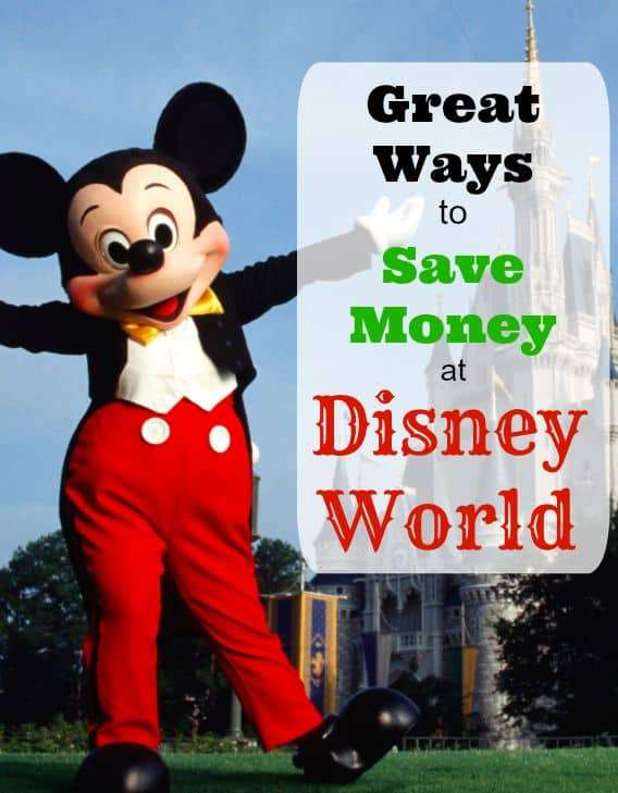 great ways to save money at disney world