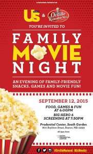 US Weekly's Family Movie Night featuring Orville Redenbacher's Popcorn
