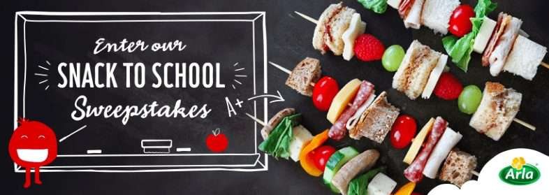 snack to school giveaway