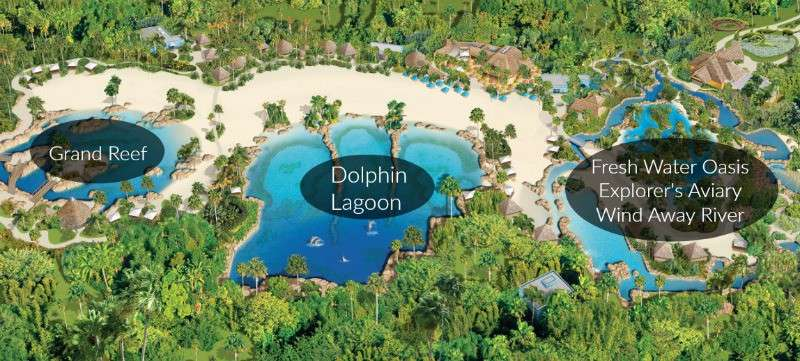 map of discovery cove