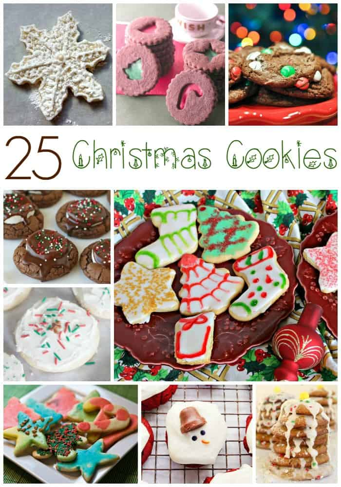 25 delicious christmas cookie recipes
