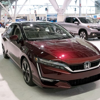 The New Honda Clarity as my Favorite Car at the Boston Auto Show