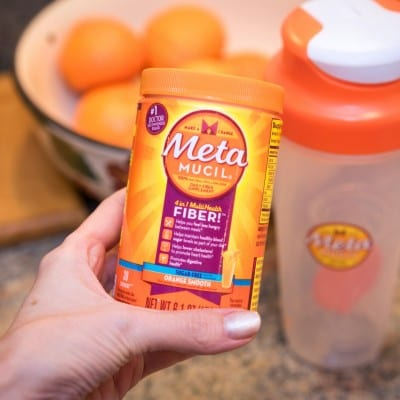 I'm taking the Metamucil Two Week Challenge. Find out how you can join me!