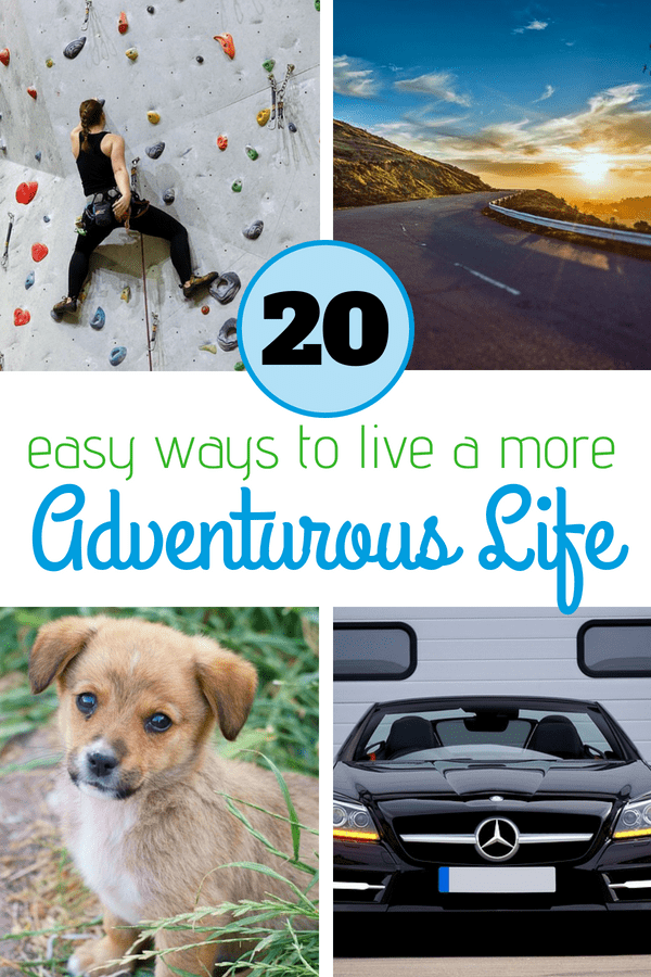 Feel like your life needs a bit of a change? Here is a great list to creating a more adventurous life. #adventure #healthyliving #lifechange
