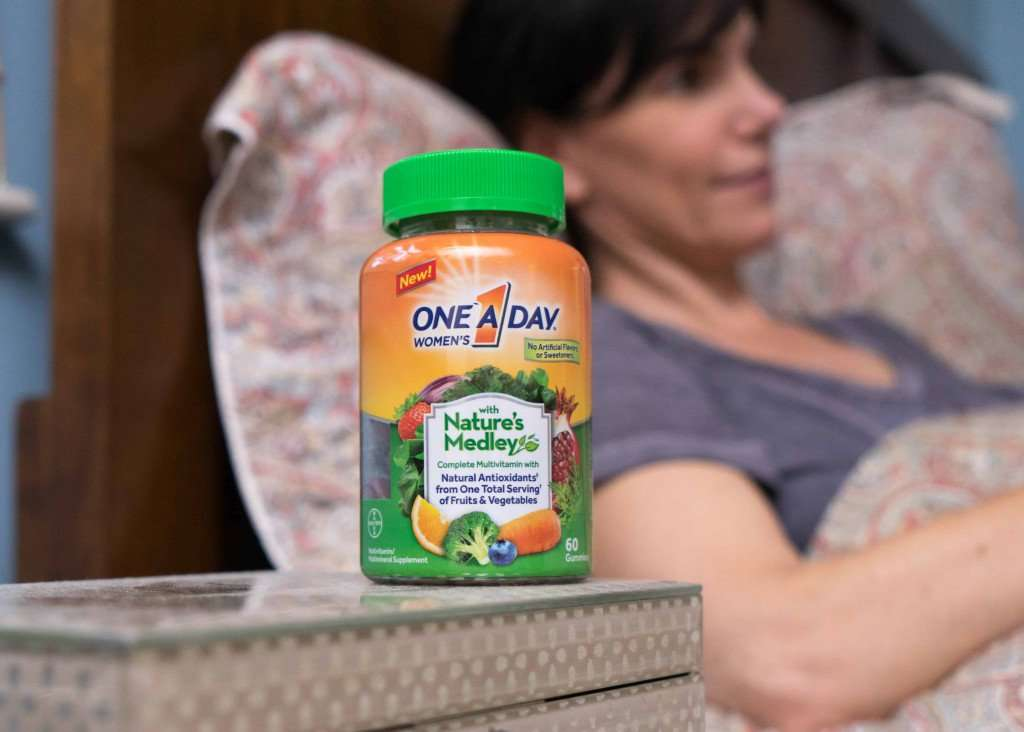 Taking a daily vitamin is another great healthy habit for a healthy family