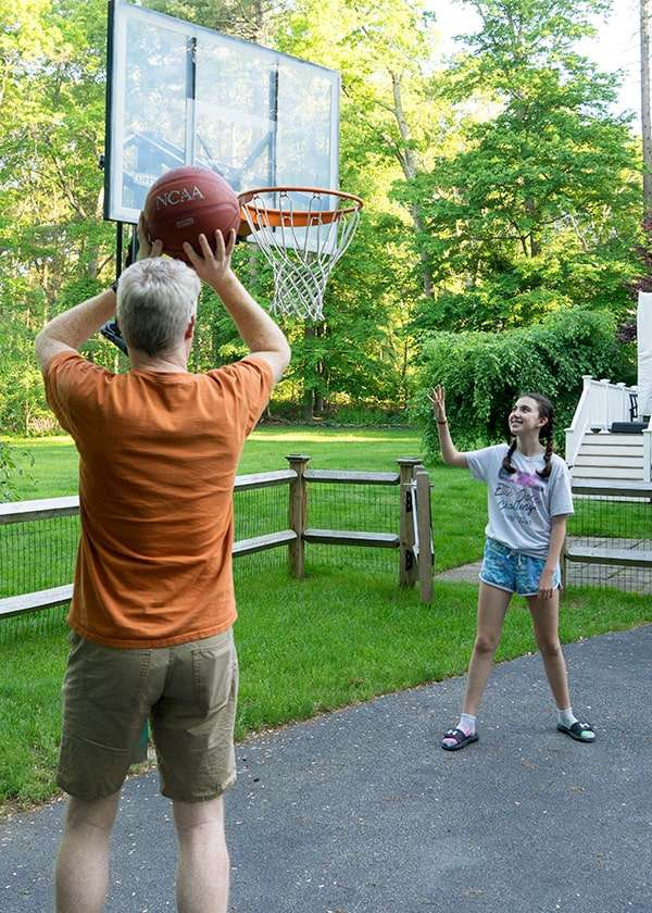 Exercise is a wonderful healthy habit for a healthy family