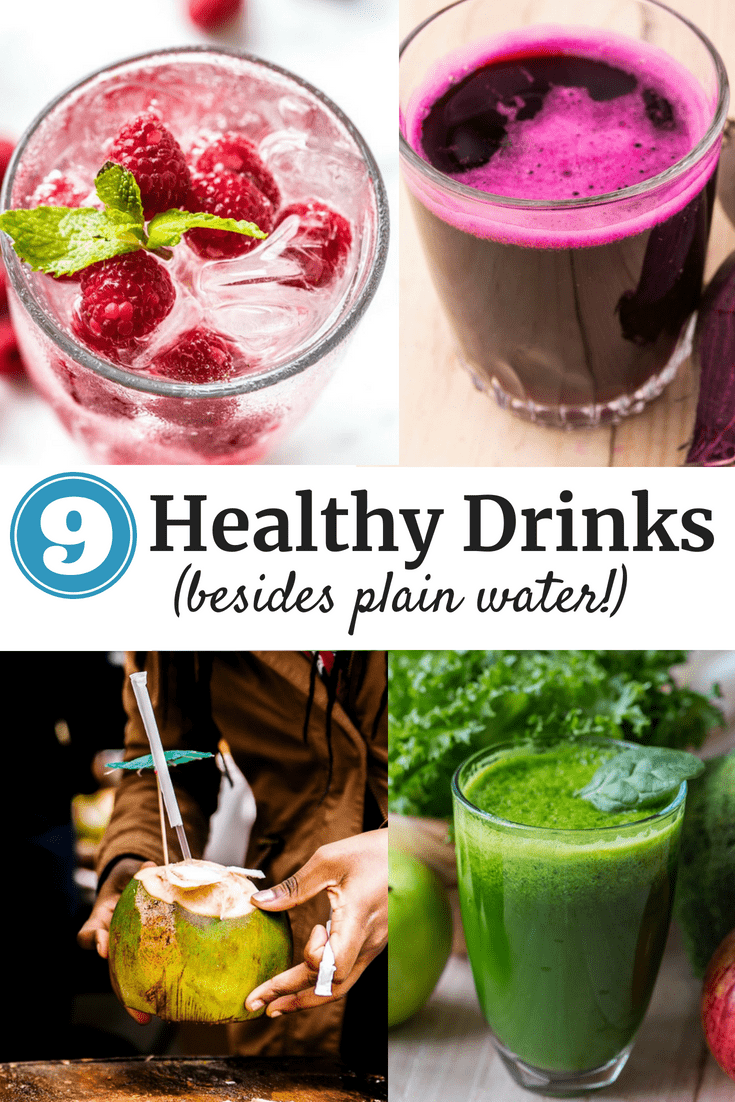 9 Healthy Drinks Besides Water