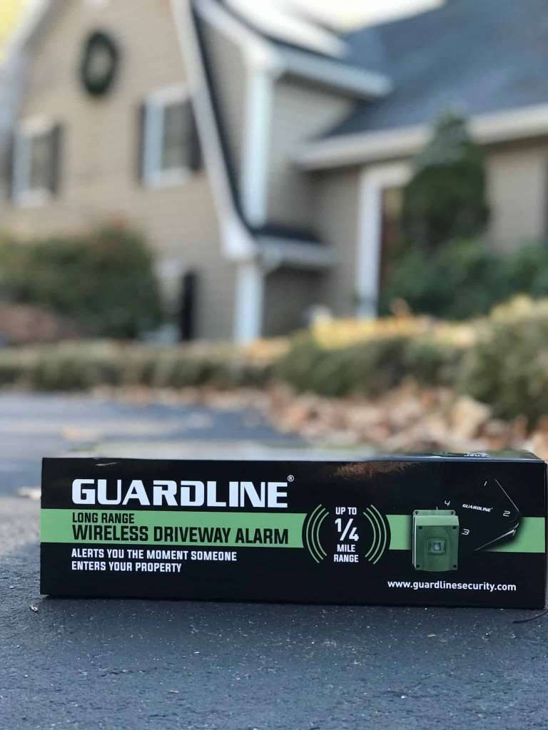 guard line box in front of house