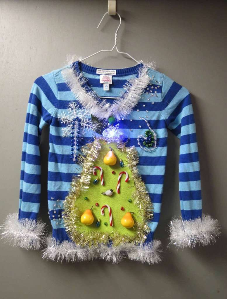 girls ugly Christmas sweater