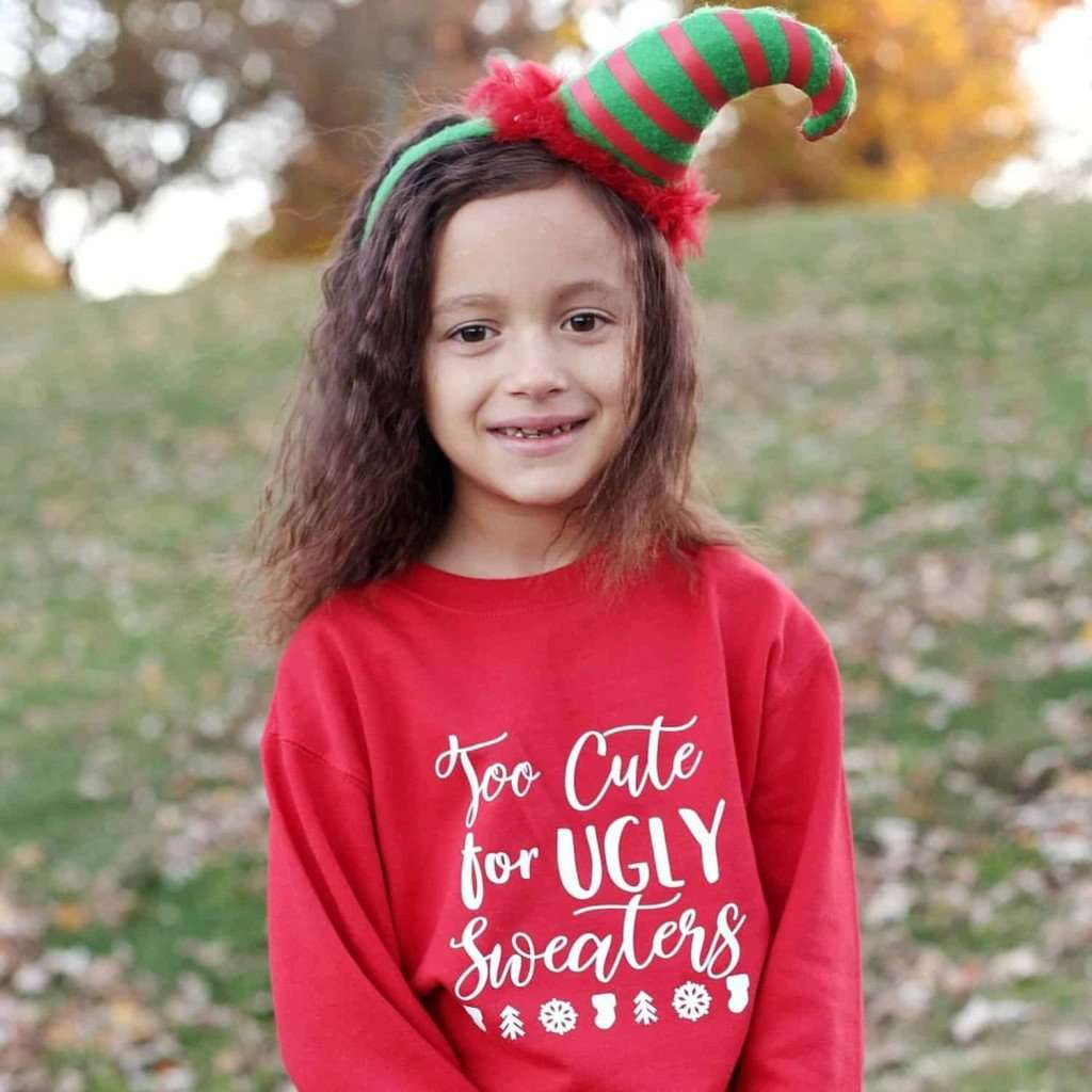 Cute Christmas sweater for kids