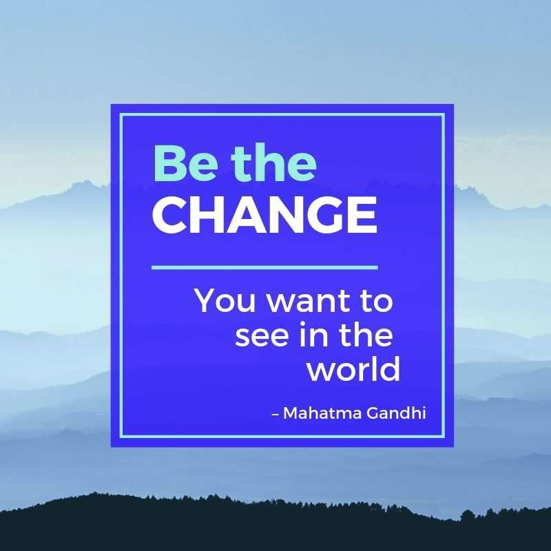 quote from Ghandi
