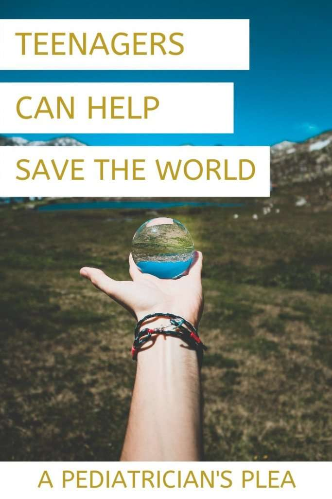 How Teens Can Help Save the World